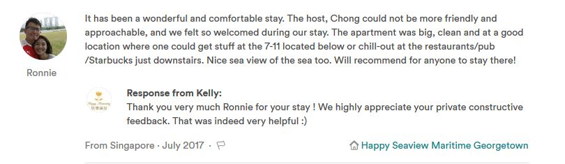 Review for Happy Homestay Penang